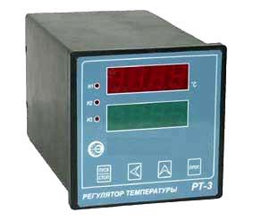 Микропроцессорный регулятор температуры РТ–3