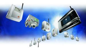 Система сбора и передачи измеренных значений температуры и влажности Testo Saveris TM